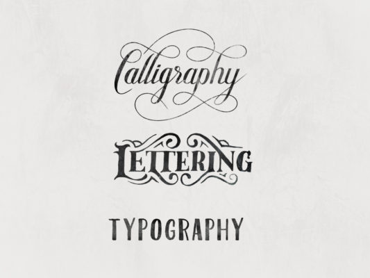 calligraphy, lettering, typography